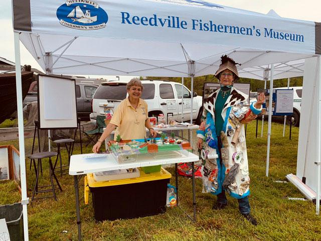 Trash Queen visits RFM tent