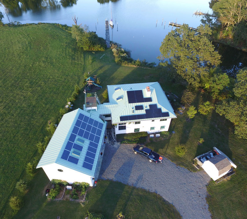 Solar Powered Main Residence