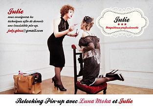 Julie Gless | Relooking Pin-up