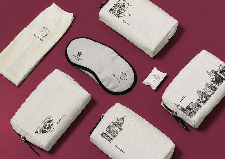 cliphong kong airlines amenity kits