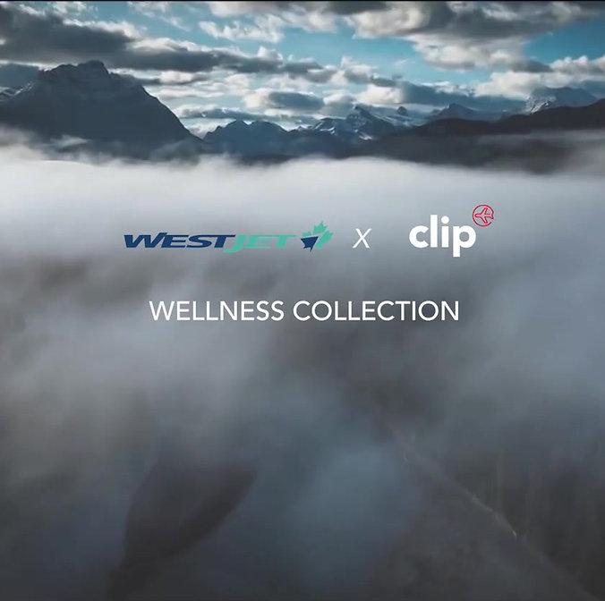 westjet clip tableware