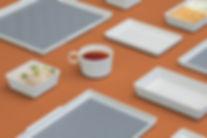 clip hong kong airlines tableware