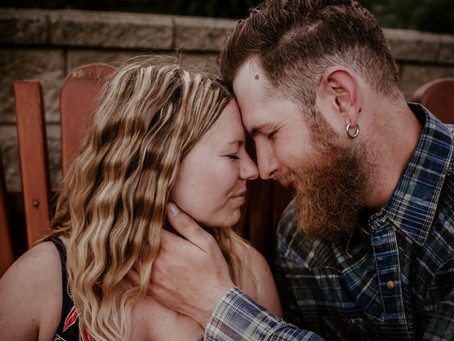 Sylvan Lake Engagement Photographer | Country Love