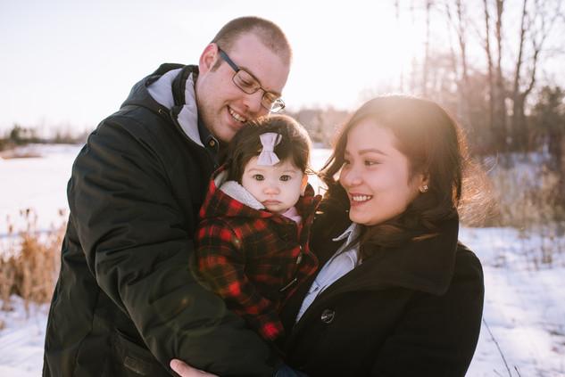 Family Session Red Deer Alberta