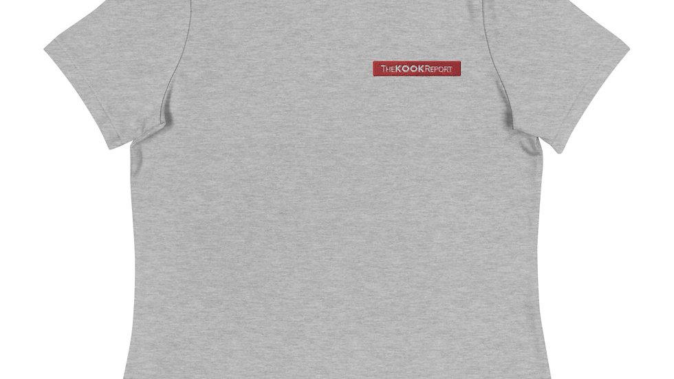 TheKOOKReport Logo Women's Relaxed T-Shirt