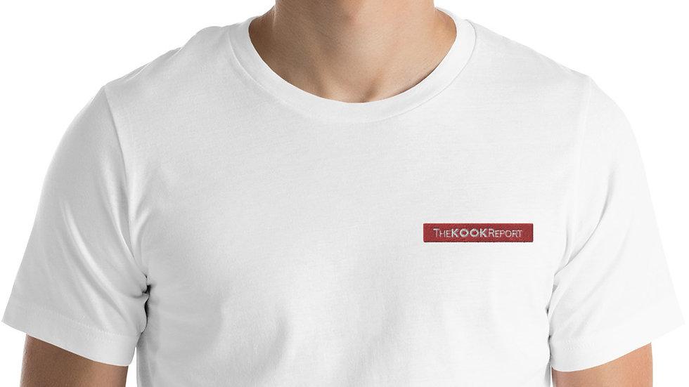 Embroidered KOOK Logo Short-Sleeve Unisex T-Shirt