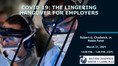 Firm Presents Free Webinar For Employers