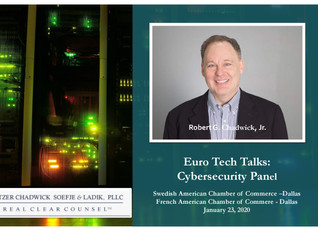 Robert Chadwick Part Of Cybersecurity Panel