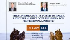 Bob Chadwick/Tim Soefje Speak At UT Law Event