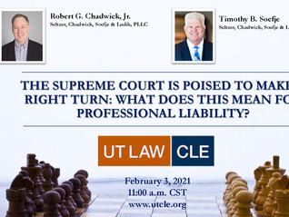 Bob Chadwick/Tim Soefje Speak At UT Law Event