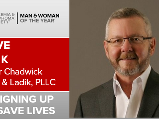 "Steve Ladik Competes For LLS ""Man Of The Year"""