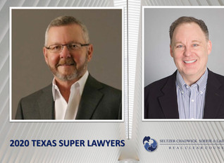 "Steven Ladik And Robert Chadwick Honored As Texas ""Super Lawyers"""