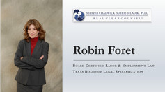 Robin Foret Promoted to Member of the Firm