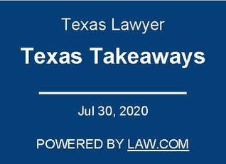 Robert Chadwick Interviewed By Texas Lawyer As To COVID-19 Employment Law Issues