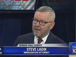 2017 Television Interview of Steven Ladik Regarding Border Wall Still Topical