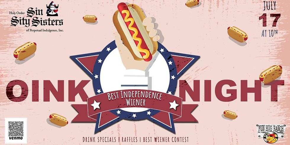 Oink Night, Fun Hog Ranch, 10p, Sat, July 17, 2021