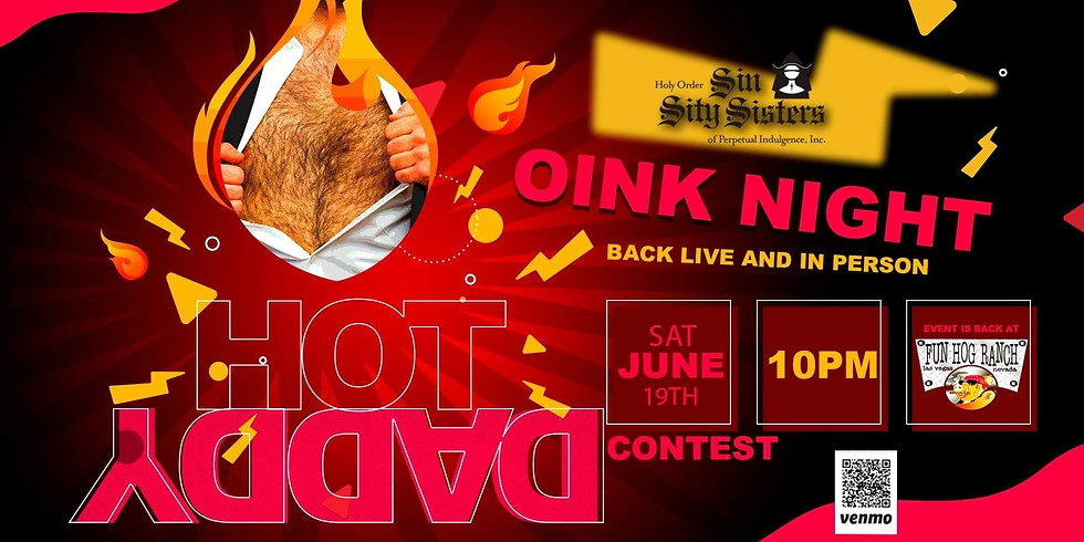 Oink Night, Back In Person - Fun Hog Ranch, 10p, Sat, June 19, 2021