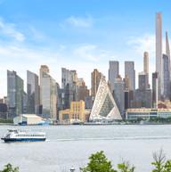 River & City Views