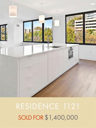 9 On Hudson 1121 Sold
