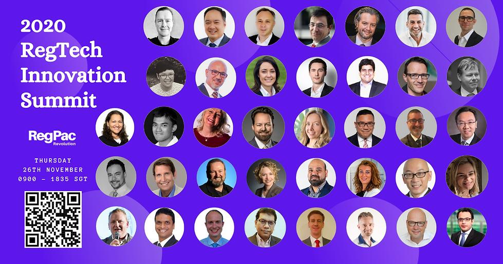 Copy of 2020 RegTech Summit (all announc