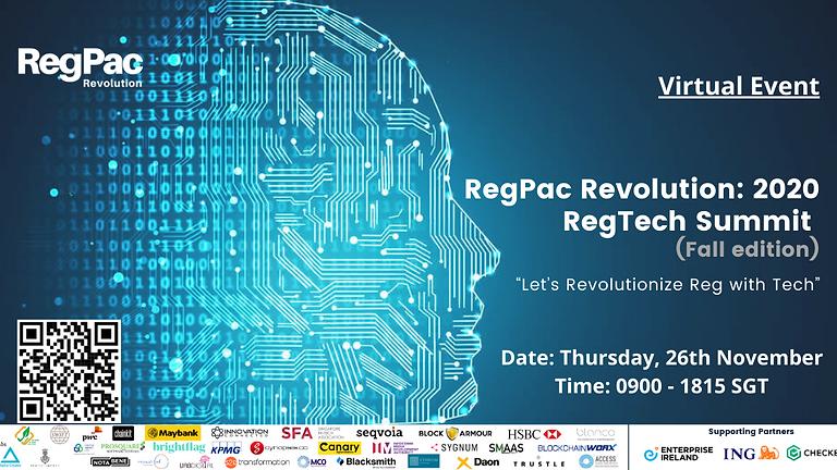 RegPac Revolution: 2020 RegTech Innovation Summit