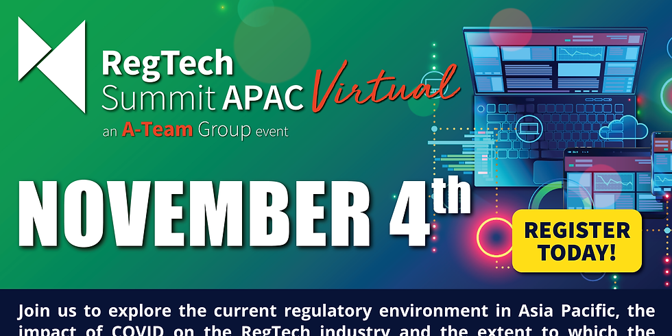 RegTech Summit APAC Virtual