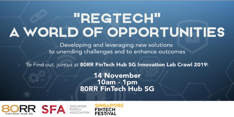 """""""RegTech A World of Opportunities"""""""