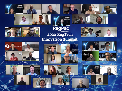 RegPac Revolution executes Landmark Virtual RegTech Summit