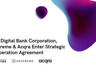 Asia Digital Bank Corporation to be supported by RegTech and payment companies Austreme & Acqra