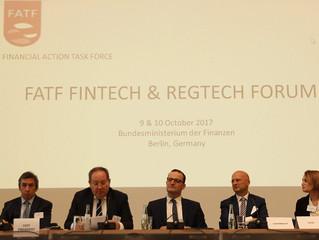 FATF FinTech and RegTech Forum, Berlin