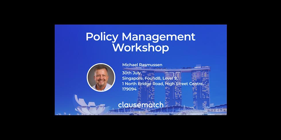 Policy Management Workshop