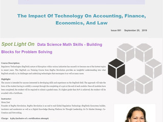 Impact of technology on accounting, finance, economics and law, Issue 91