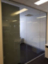 Glass Cleaning At An Office In Perth