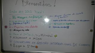 Bienvenido 2015