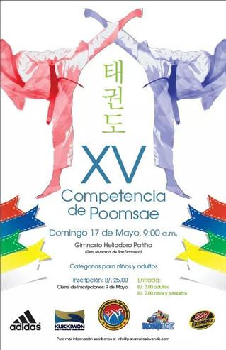 Competencia de Poomsae 2015