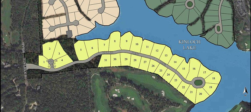 Kinloch Lake lots and golf lots richmond virginia