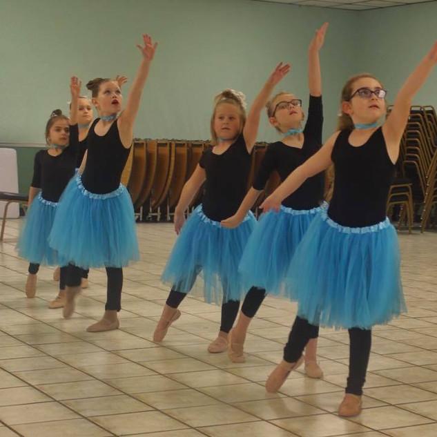 The blue tutu ballet.