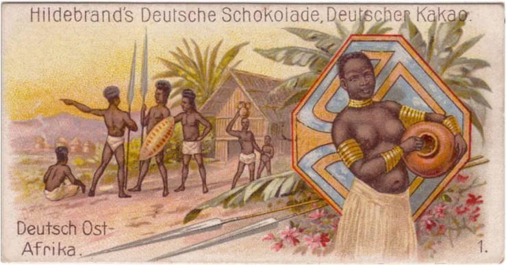 propaganda racista colonialismo