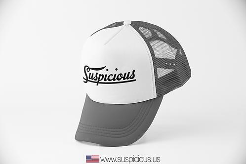 Suspicious - Grey/White Hat