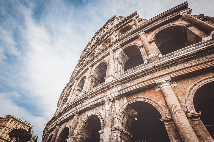Förstört antik arkitektur