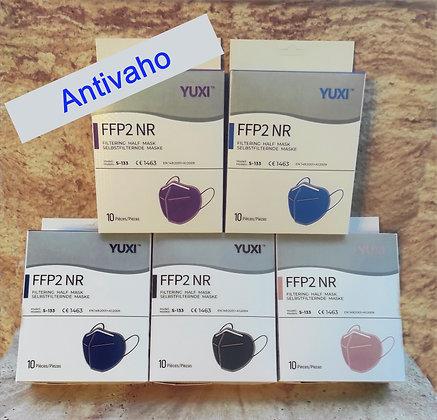 Mascarillas FFP2 Colores Antivaho (Caja 10 uds.)