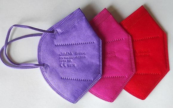 Caja 20 uds. Mascarilla Colores FFP2