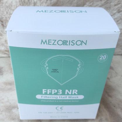 Mascarillas FFP3 MEZORRISON (Caja 20 uds.)