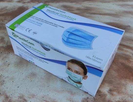 Mascarillas Quirúrgicas YONGKANG MEDICAL (Caja 50 uds.)