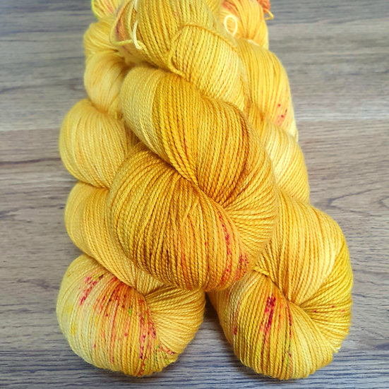 HighTwist Sock Merino - Sonne im Winter