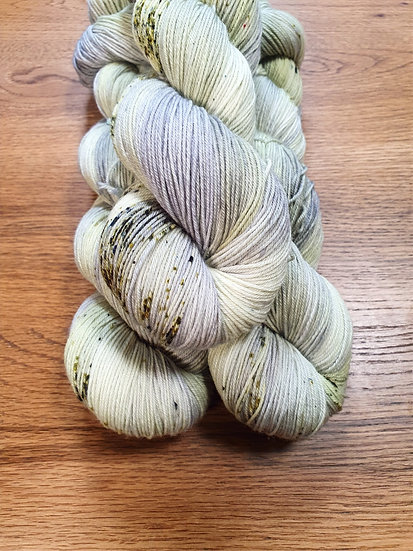 Super Sock Merino - Nebelgrün