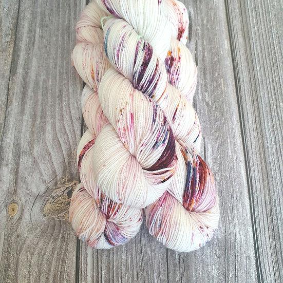 Super Sock Merino - Hornveilchen