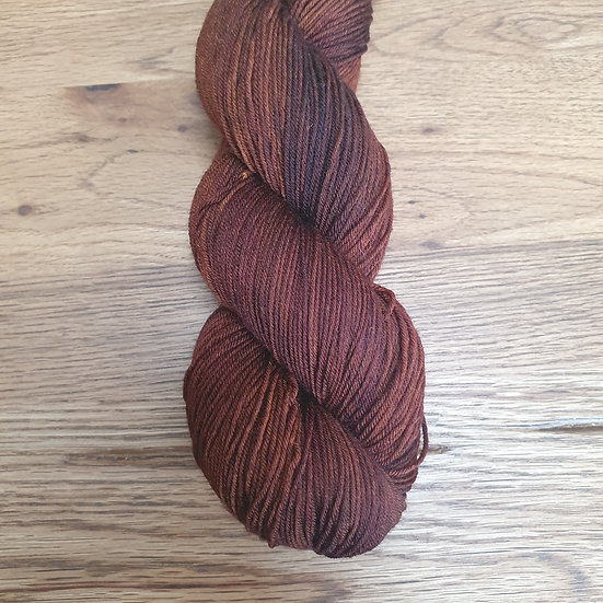 Super Sock Merino - golden brown