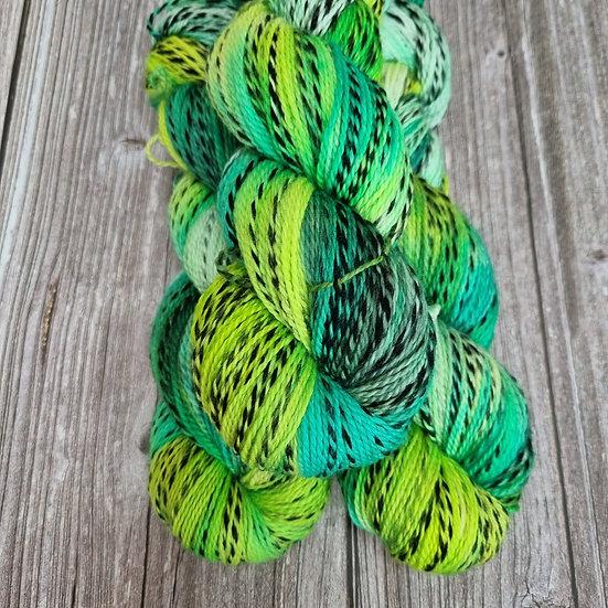 Black Stripes Merino - es grünt
