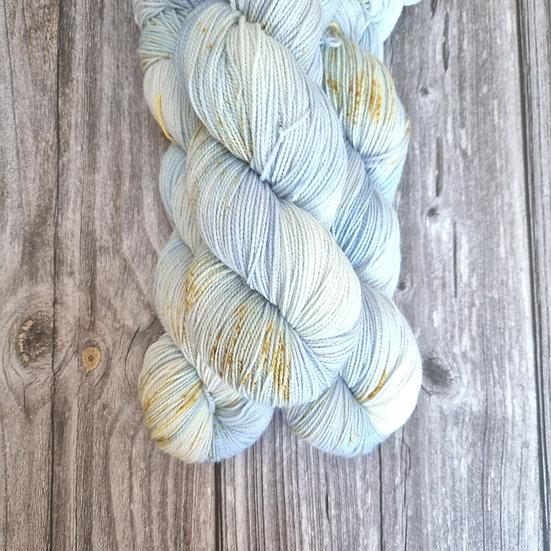 HighTwist Sock Merino - Stiefmütterchen blau